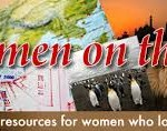 Backpacking Women on the road