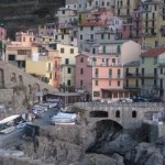 Chinked coastline- the Cinque Terre