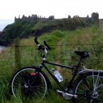 Sixty-seven, cycling solo across Scotland: East to West