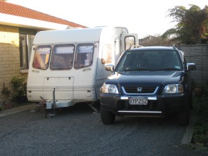 The new caravan for new adventures