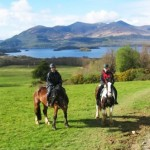 Seeing Ireland from the back of a Horse