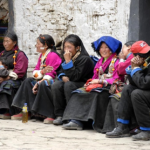 Women Trekking in Tibet
