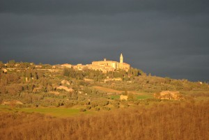 Pienza...our neighbor...what a beautiful city in Tuscany. Come see it with us!