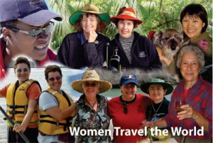 Women Travel the World Postcards