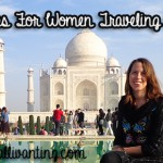 Safety tips for women traveling in India