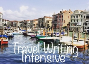 Pink Pangea travel writing intensive