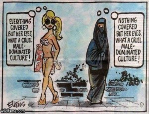 Venus modesty cartoon