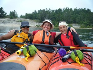 wild women kayak