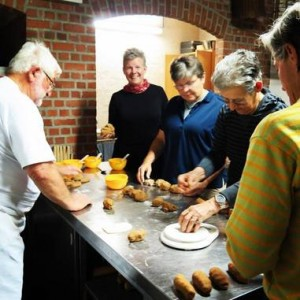 French escapade tours in Belgium Speculoos pastry workshop in Belgium, 2015. Picture by Gail Newel.