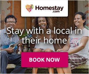 Homestay - stay with a local