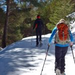 Snow Shoeing in southern Spain