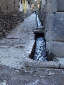 Inca water system