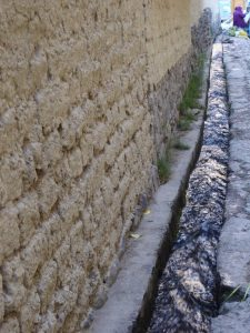 water channels in Ollantaytambo