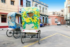 Cuba-Colorful-Bike-Taxi
