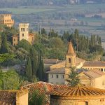 Tours of Tuscany are based near the village of Cortona