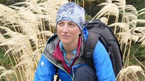 American woman Elinor Israel has just completed the Te Araroa trail, from Cape Reinga to