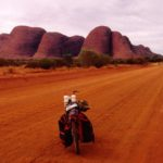 Olivia Jones Uluru Photo Uluru base ride