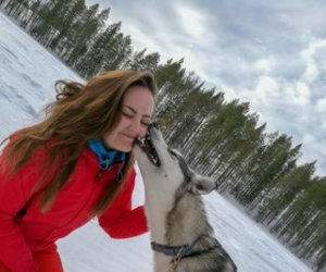 Swedish Lapland in winter women women adventure travel sweden